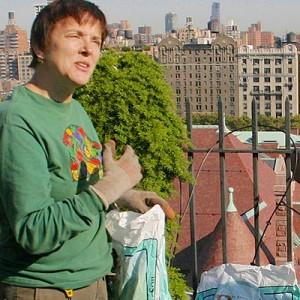 Ellen Zachos, gardener
