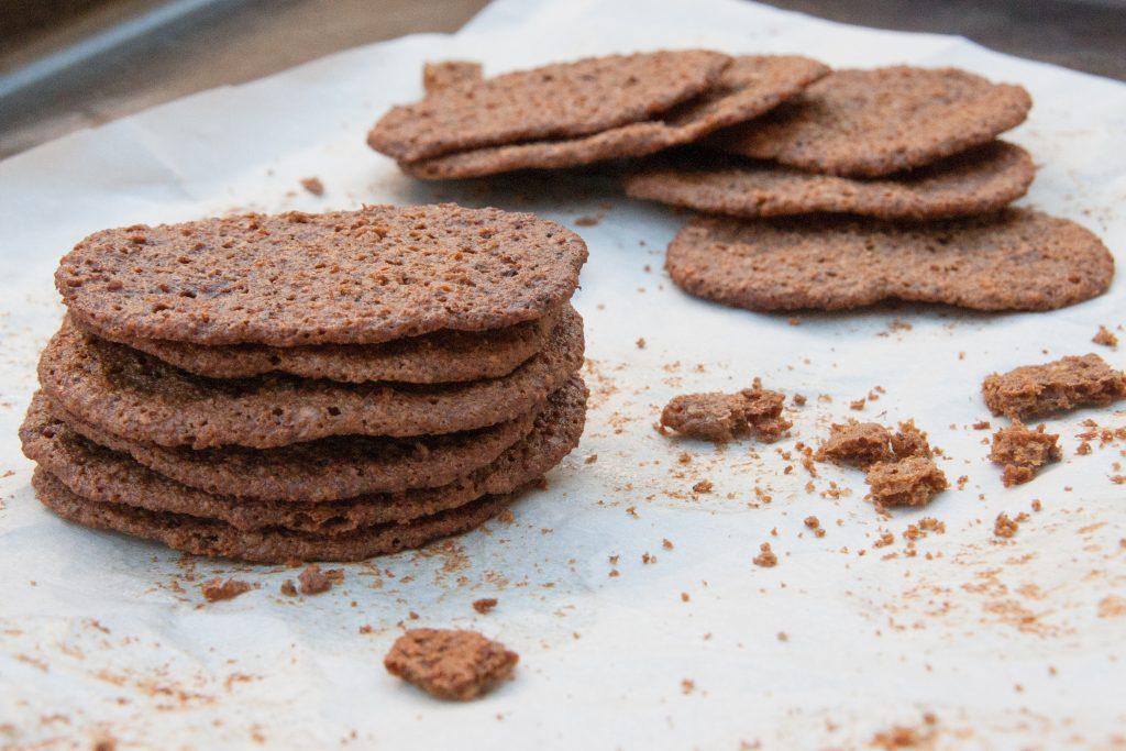 acorn flour wild ginger snaps