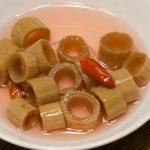 Japanese knotweed pickles
