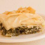 wild greens pie