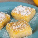lavender Meyer lemon bars