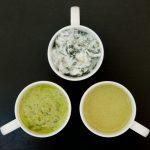 dock and yogurt dip